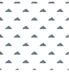 Extreme mountain pattern seamless vector