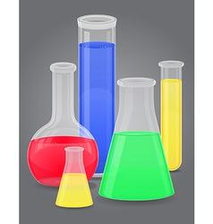 glass tube 10 vector image