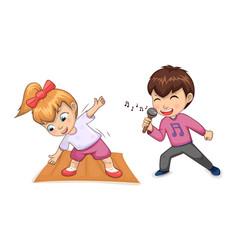 Hobbies children collection vector