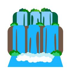 Iguazu falls vector