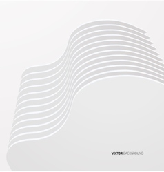 White interior with walls vector