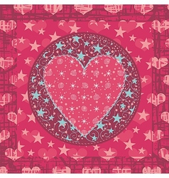 Abstract Valentines Background vector image vector image
