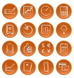 business symbols vector image