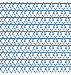 abstract simple seamless blue triangle pattern vector image