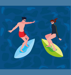 People extreme sport and lifestyle vector