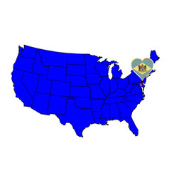State of delaware vector