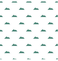 Travel to mountain pattern seamless vector