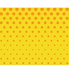 Dots seamless pattern background retro pop art vector