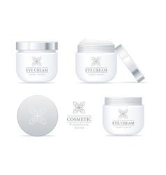 eye cream professional series set vector image vector image