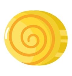 Lolipop candy symbol vector image