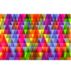 pattern of geometric shapestexture with flow of vector image vector image