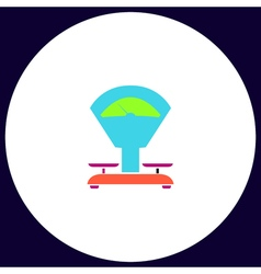 Balance computer symbol vector