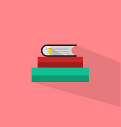 book icon set of great flat icons design vector image