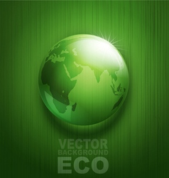environmental background with transparent green ba vector image