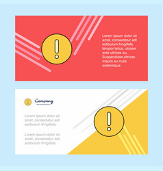 error abstract corporate business banner template vector image