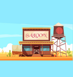 guzzle shop scenery background vector image