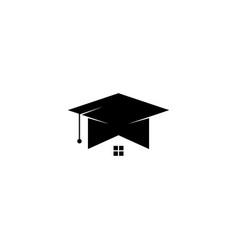 House school education icon graphic design vector