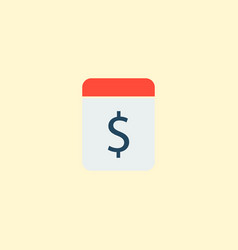 pay day icon flat element of vector image