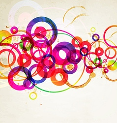 Rustic Colorful Abstract Background vector