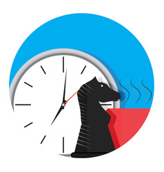 time business strategy vector image