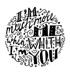 Vintage font white background vector image