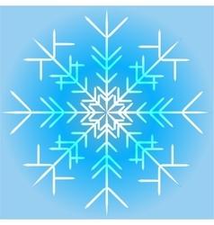 a snowflake vector image