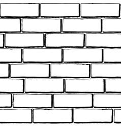 brick tex BW vector image
