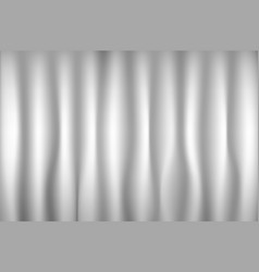 gray velvet textile curtains background backdrop vector image