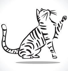 cat 2 vector image