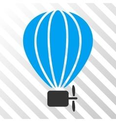 Aerostat Balloon Eps Icon vector