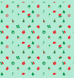 Cute retro christmas background vector