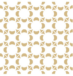 golden ornament pattern in asian style vector image
