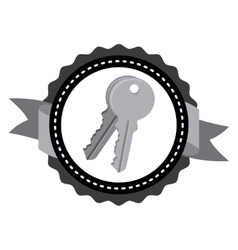 Keys icon design vector