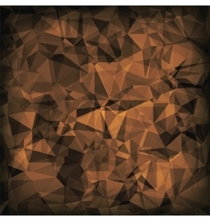 Brown Polygonal Background vector
