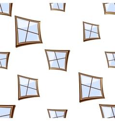 building windows seamless vector image