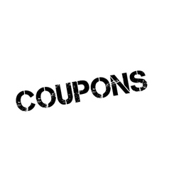 Coupons rubber stamp vector