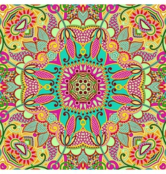 Original retro paisley seamless pattern vector