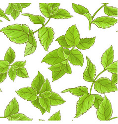 Peppermint pattern vector