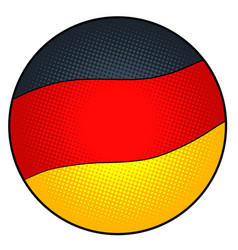state flag germany vector image