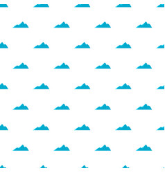 Tall mountain pattern seamless vector