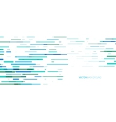 Abstract horizontal colored lines vector image