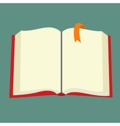 Best book flat icon vector