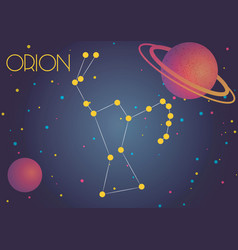 Constellation orion vector