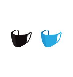 corona protection surgical masks vector image