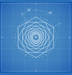 Drawing hexahedron composition vector