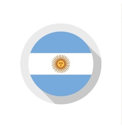 Flag argentina vector