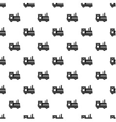 Locomotive pattern vector