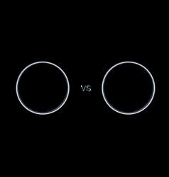 Metal versus screen vector