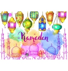 Ramadan Kareem vector