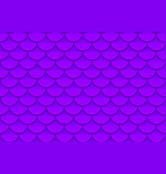 Seamless pattern of colorful violet purple fish vector